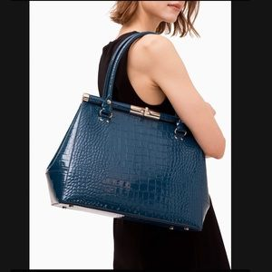 Final Sale💥Tote Croc embossed Leather Kate Spade